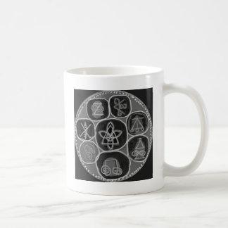 Black and White Version - Reiki n Karuna Coffee Mugs