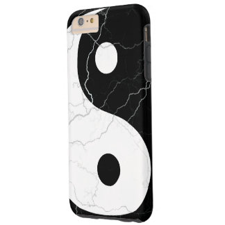 Black and White Yin and Yang Tough iPhone 6 Plus Case