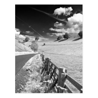 Black and white Yorkshire Postcard
