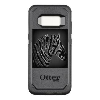 Black and White Zebra Art OtterBox Commuter Samsung Galaxy S8 Case