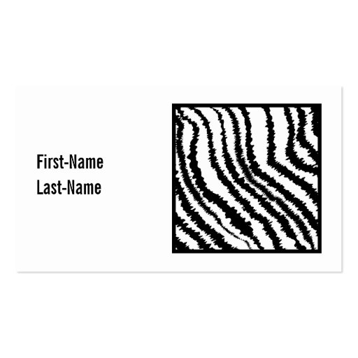 Black and white animal paw print pattern business card dog black and white zebra print pattern zazzle reheart Image collections