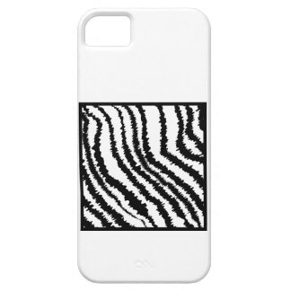 Black and White Zebra Print Pattern. Case For The iPhone 5