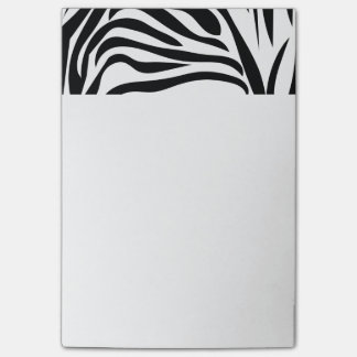 Black and White Zebra Print Post-it Notes