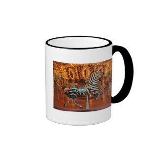 Black and White Zebra Products Ringer Mug