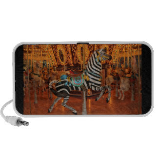 Black and White Zebra Products Notebook Speakers