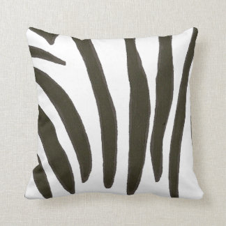 Black and white Zebra Stripes Pillow