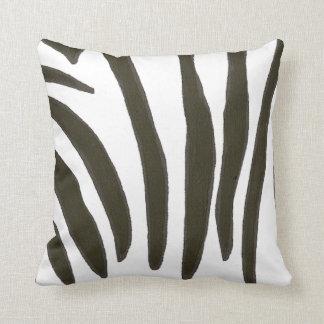 Black and white Zebra Stripes Pillow