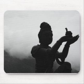 Black and White Zen Mousepad