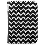 Black and White Zig Zag Pattern. Kindle Keyboard Cases