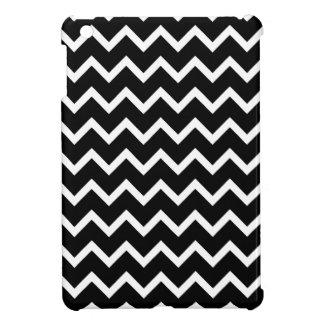 Black and White Zig Zag Pattern. iPad Mini Cover
