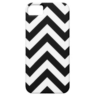 Black and white  Zigzag Chevrons Pattern iPhone 5 Cover