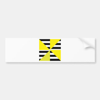 Black and Yellow Bars & Triangles Designs!