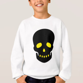 Black and Yellow Skull Sweatshirt