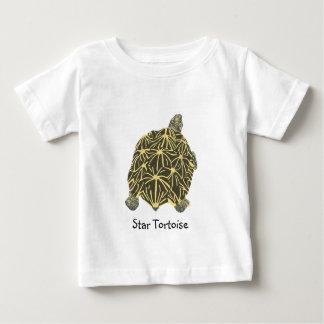 Black and Yellow Star Tortoise Tshirts