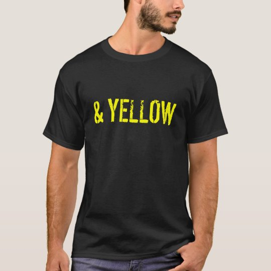 Black and Yellow T-Shirt