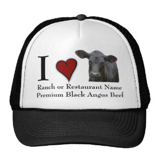 Black Angus Beef  - I love design Cap
