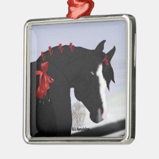 Black Arabian Horse Christmas Christmas Ornament