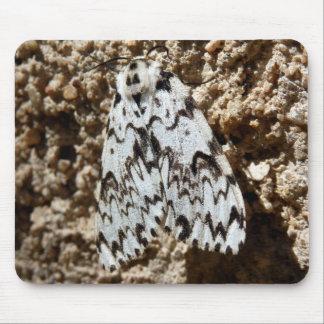 Black Arches Moth Mouse Mat