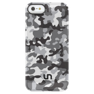 Black Army Camo Permafrost® iPhone SE/5/5s Case