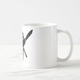 Black Army knife Mug