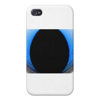 Black around Blue iPhone 4/4S Cover