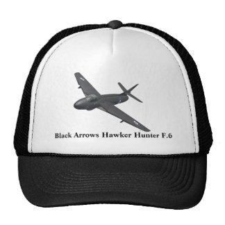 Black Arrows Hawker Hunter Hat