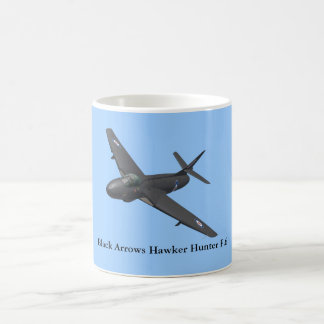 Black Arrows Hawker Hunter Mug