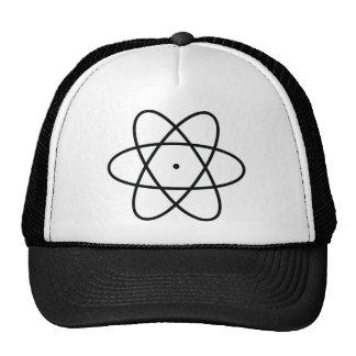 black atom nucleus trucker hats