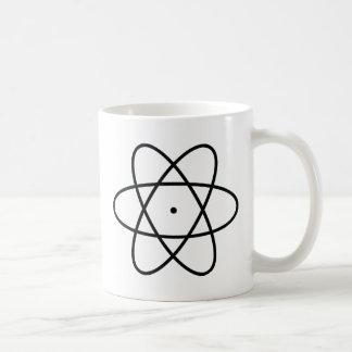 black atom nucleus mugs