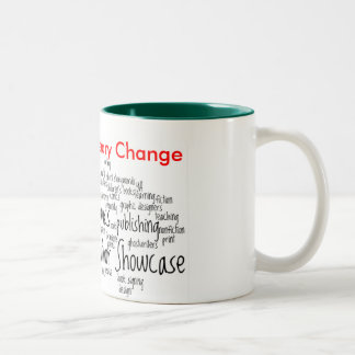 Black Author Showcase Agent of Literary Change Mug