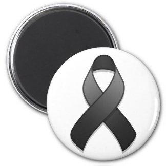 Black Awareness Ribbon Magnet