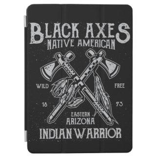Black Axes Native America Indian Warrior Arizona iPad Air Cover
