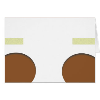 Black Baby Diaper Surprise- Boy blank card