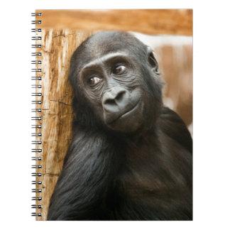 Black Baby Monkey Notebooks
