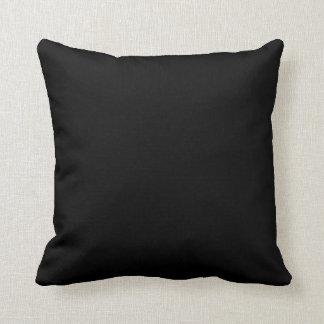 Black Background Cushion