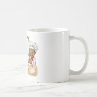 Black Baker or Pastry Chef Menu Sign Coffee Mug