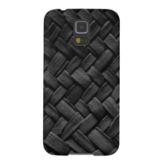 black basket weave pattern galaxy nexus case