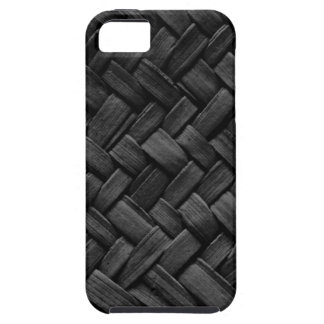 black basket weave pattern iPhone 5 covers