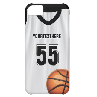 Black BasketBall Dress Name &  Number iPhone 5Case iPhone 5C Case
