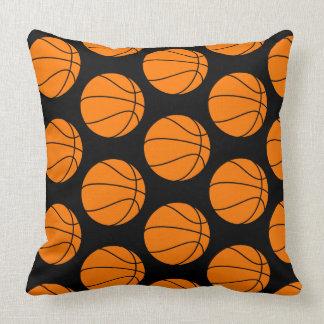 Black Basketball TP Cushion