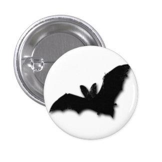 Black Bat 3 Cm Round Badge