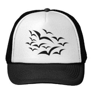 Black Bat Cloud Kids Hat