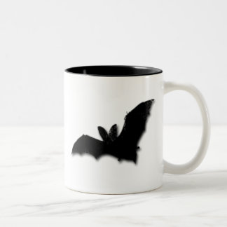 Black Bat Two-Tone Coffee Mug