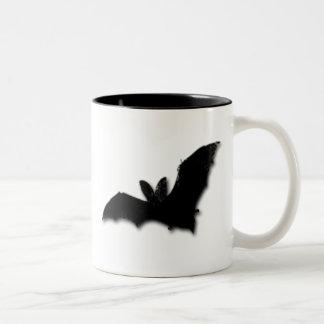 Black Bat Two-Tone Mug