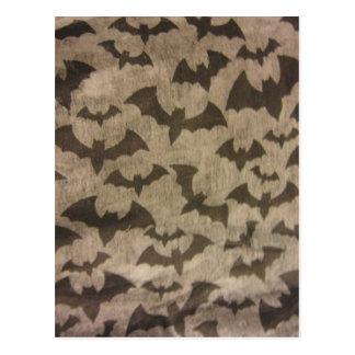 Black Bats Postcard