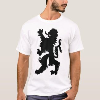 Black Bavarian Lion T-Shirt