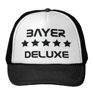 black bayer deluxe icon trucker hats