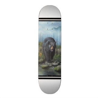 Black Bear 21.6 Cm Skateboard Deck