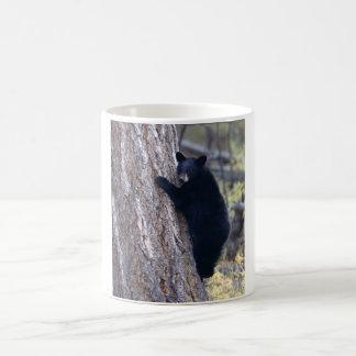 Black Bear Cub Basic White Mug