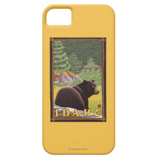 Black Bear in Forest - Idaho Barely There iPhone 5 Case